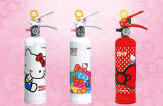 Cat-Inspired Safety Devices - The Hello Kitty Fire Extinguisher Spreads Cuteness, Not Fire