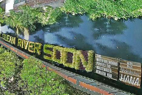 River Cleaning Billboards