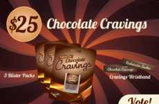 Calorie-Free Chocolates - Cravings is a Zero Calorie Chocolate Created by Ian Goldfarb
