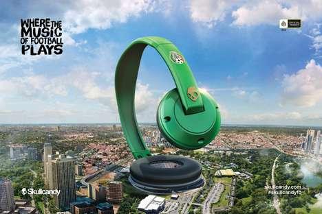 Sports Stadium Headphone Ads