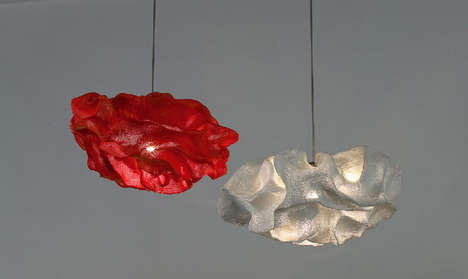 Scrunchy Light Fixtures