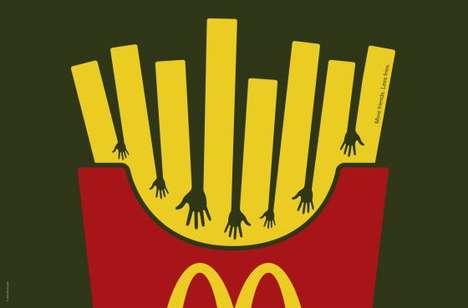 Illusory French Fry Ads