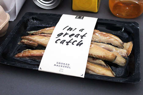 Witty Food Packaging - Beth Fox-Fuller Developed a Funny Food Packaging Concept for ASDA