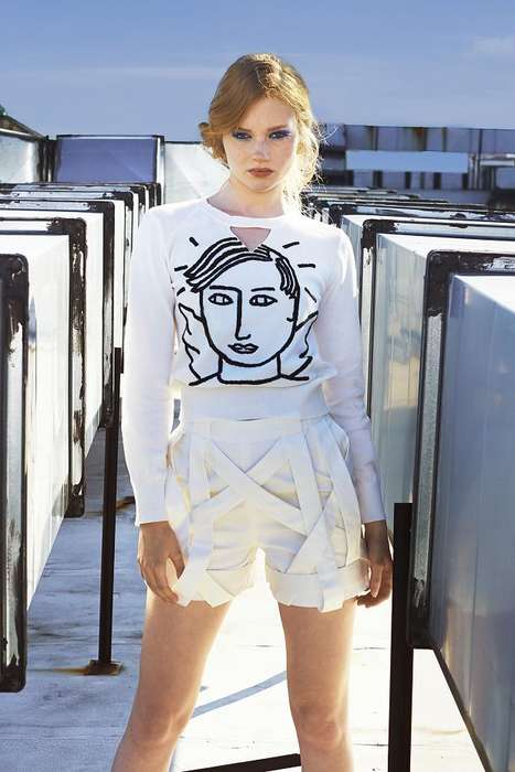 Artful Rooftop Lookbooks