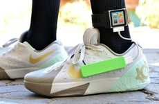 DIY Sneaker Device Chargers - Instructables User ASCAS' Device Charger Resides in a Shoe