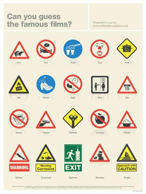 Cinematic Signage Infographics