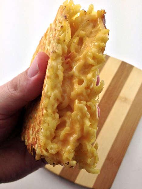 Grilled Ramen Sandwiches