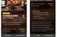 Restaurant-Reserving Apps - The Resy App Helps You Cut the Line at Popular Restaurants