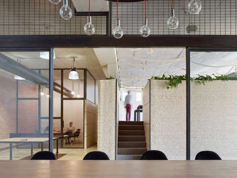 Rejuvinated Factory Workspaces - The Kavellaris Urban Design Office Fosters Creativity