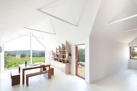 Tilted Timber Pavilions