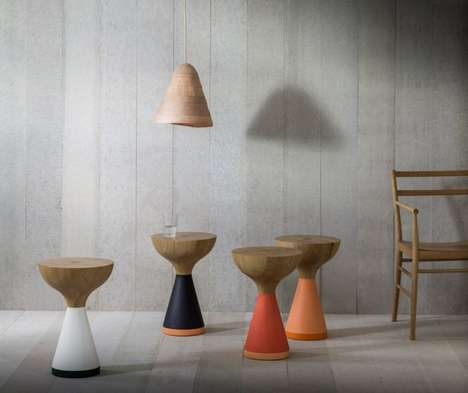 Contemporary Colorful Pedestals