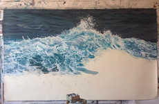 Photorealistic Ocean Artwork