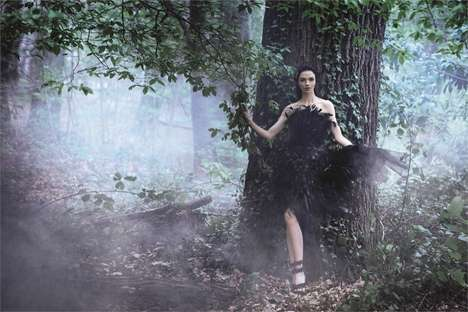 Enchanted Forest Fashion Ads