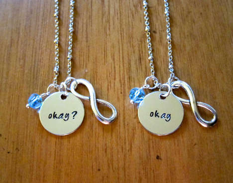 Small Infinity Necklaces