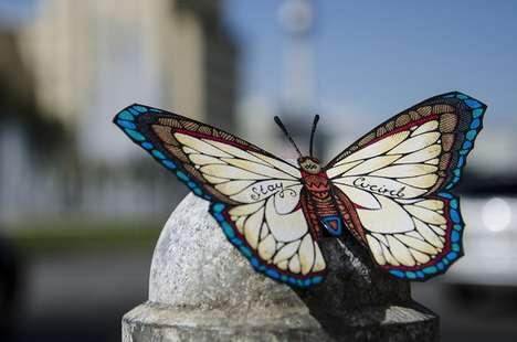 Boastful Butterfly Art
