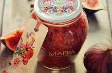 Regally Feminine Jam Jars - Maria Marmalade Sources from a Legend About Scotland's Queen Marie I
