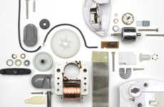 Disassembled Appliance Photography - Brittny Badger's Photos Explore Devices Taken for Granted