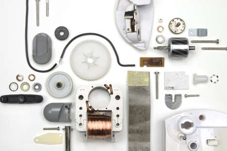 Disassembled Appliance Photography