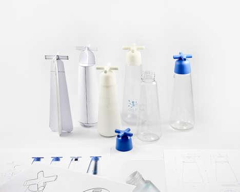 Tap-Like Water Bottles
