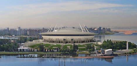 Spaceship-Resembling Stadiums
