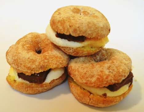 Campfire Confectionary Hybrids - Food Beast Created Donut S'mores for National Donut Day 2014