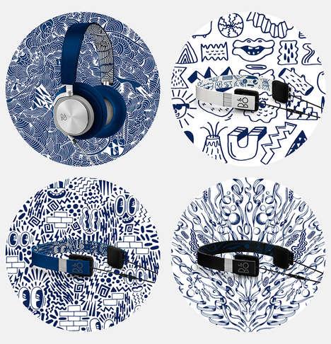 Street Art-Inspired Headphones