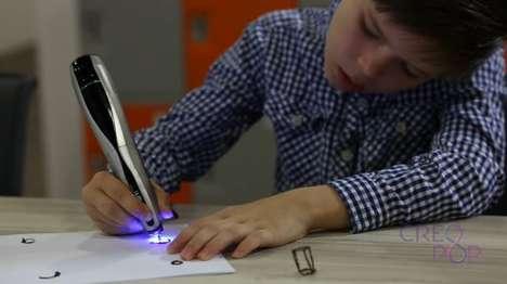 Ultraviolet 3D Pens