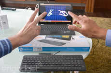Built-In Gesture Control Keyboards