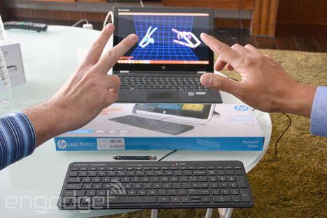 Built-In Gesture Control Keyboards