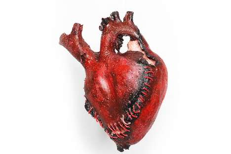 Artistic Heart Sculptures