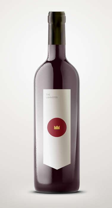 Minimal Medieval Fantasy Wines