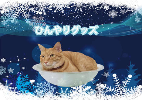 Cooling Cat Bowls
