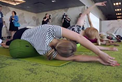 Airport Yoga Classes