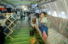 Upcycled Airplane Homes