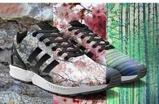 Customizable Photo-Print Sneakers - 'Mi adidas' Allows Users to Print Photos on Adidas ZX Flux Shoes