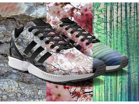 Customizable Photo-Print Sneakers
