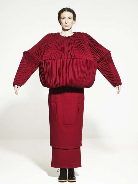 Pleated Trapeze Fashions