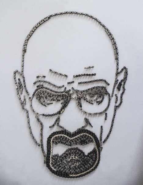 Bike Chain Art