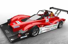 Electrifying Race Cars - The MiEV Evolution is the Latest All-Electric Race Car from Mitsubishi