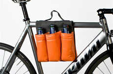 Bicycle Bottle Bags - The Bike Bag Pack is the Ideal Way for Bikers to Quench Their Thirst