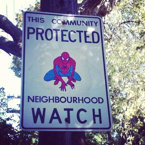 Vigilante-Inspired Vandalism