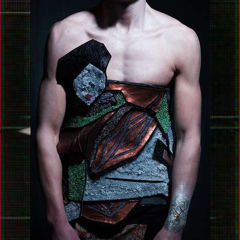 Conceptual Cubism Menswear