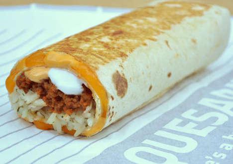 Tantalizing Taco Burritos