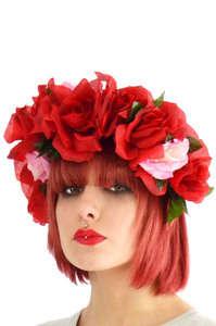 Botanical Monarch Headpieces