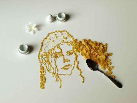 Celebrity Cereal Art