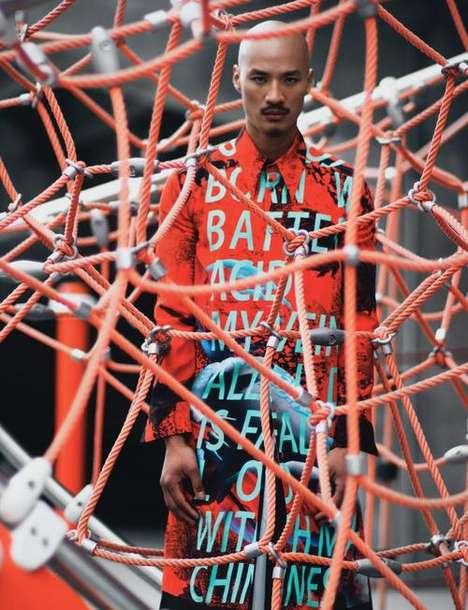 Eccentric Sportswear Editorials