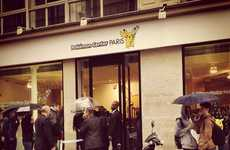 Anime Pop-Up Shops - A Pop-Up Shop in Paris Opened to Promote Pokemon X and Y