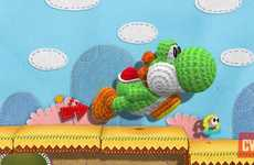 Crochet Video Games - Nintendo Show's Off Yoshi's Wooly World at E3 2014 Conference