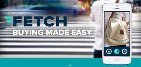 Buying Assistant Apps - The Fetch E-Commerce Platform Makes Online Shopping a Simpler Process