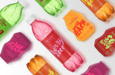 Vibrantly Flavorful Water Branding